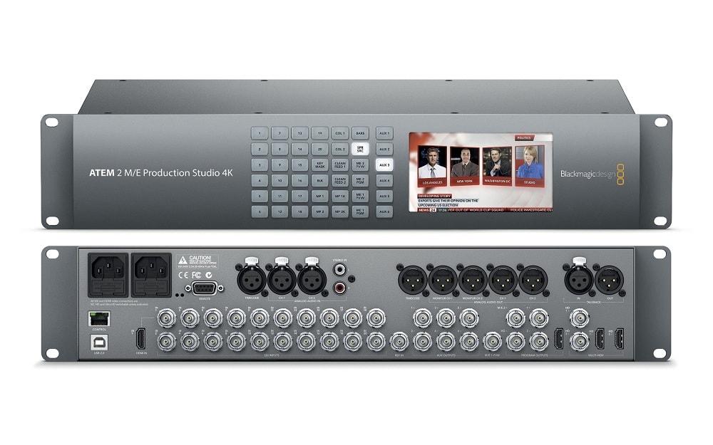 ATEM 2 M_E Broadcast Studio 4K