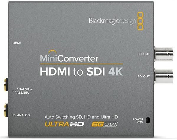 Mini Converter HDMI to SDI 4K
