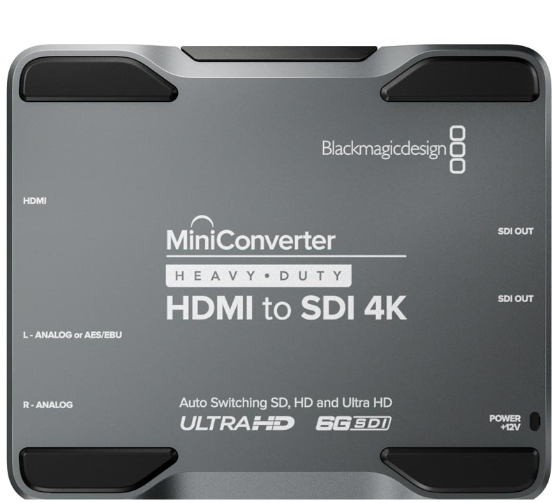 Mini Converter Heavy Duty HDMI to SDI 4K